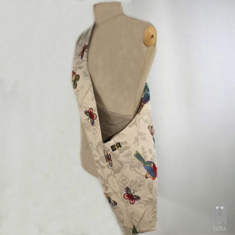 Mocna, duża torba gobelinowa młodzieżowa bafra