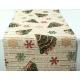 serweta świąteczna - choinki