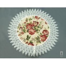 Serweta gobelinowa róże drobne