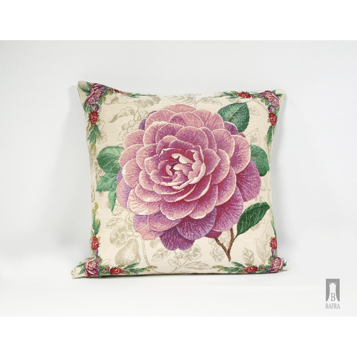 Poduszka Róża fioletowa