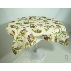 Christmas tablecloth - poinsettias