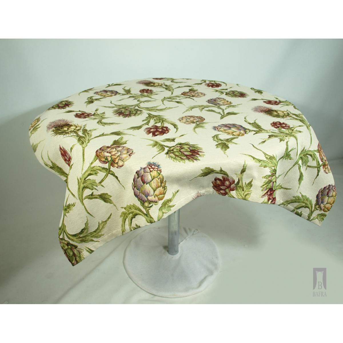 Christmas tablecloth - poinsettias