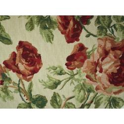 Tkanina gobelinowa duża róża