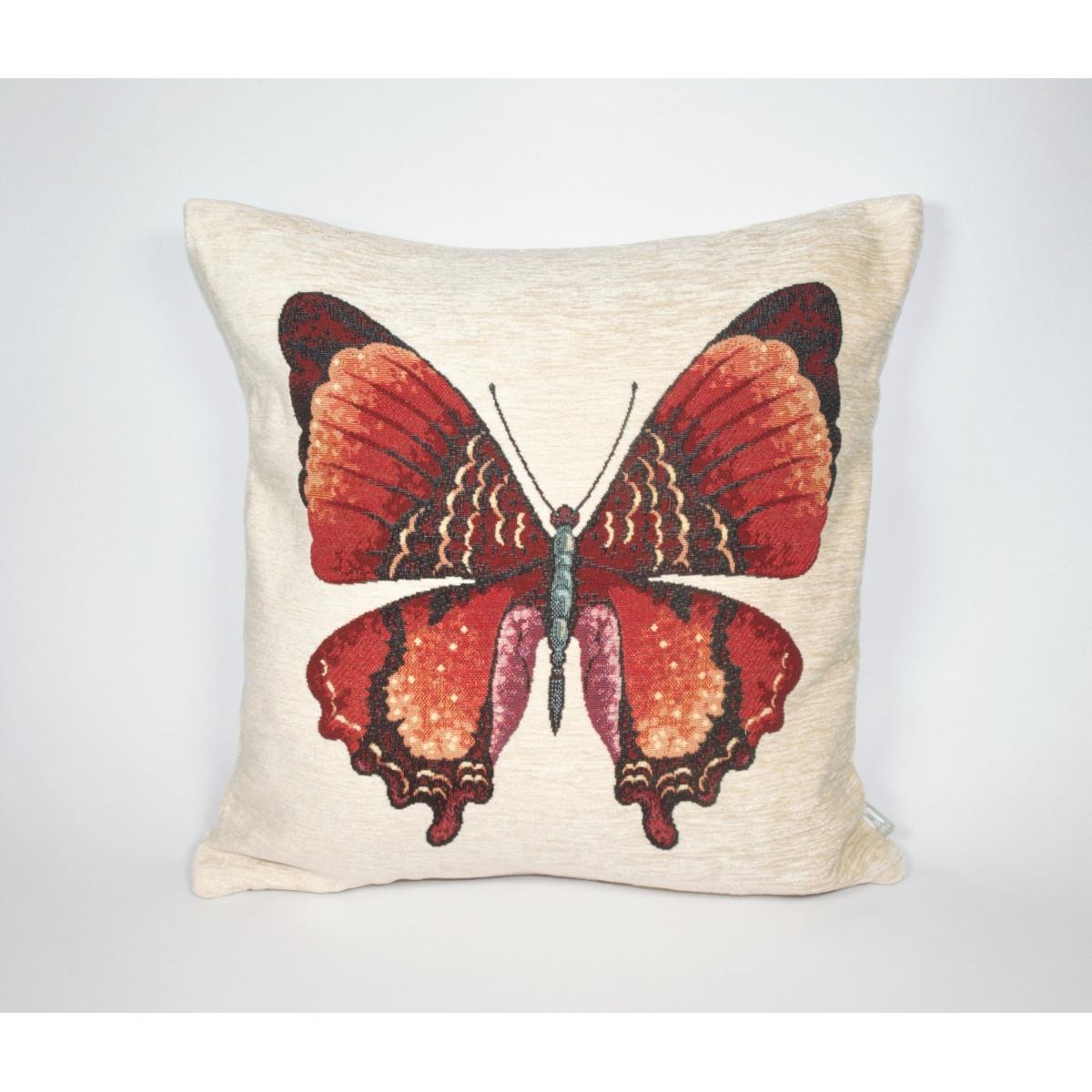 Poduszka Motyl Beż