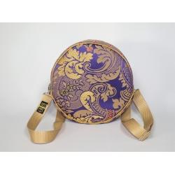 Torebka - plecak fioletowa