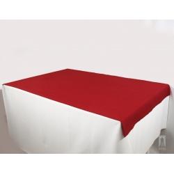Obrus plamoodporny - czerwony