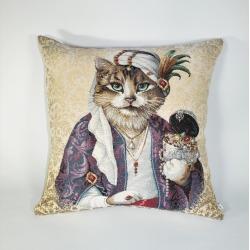 Poduszka Kot Sułtan - Jednostronna