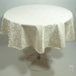 Tablecloth Mona cream - circle