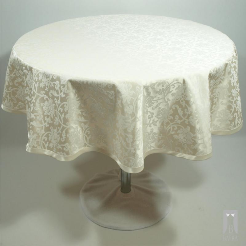 Tablecloth Mona cream - circle
