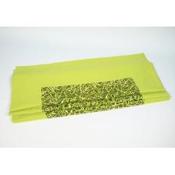 Bieżnik zielony Bambus