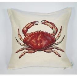 Poduszka gobelinowa Krab - Jednostronna