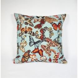 Poduszka Motyle Niebieskie