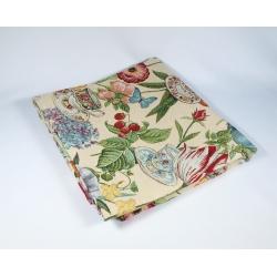Obrus gobelinowy Kwiaty Kolorowe - Kwadrat