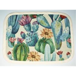 Serweta gobelinowa Kaktusy