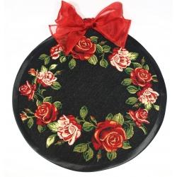 Serweta Róża wianek - koło