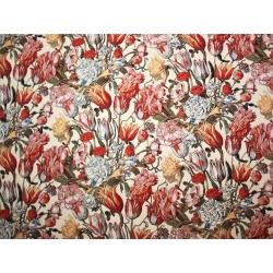 Tkanina gobelinowa Tulipany czerwone