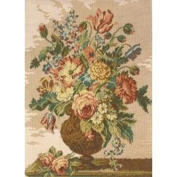 Gobelin Vaso Con Fiori