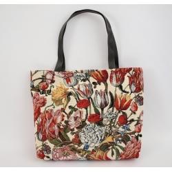 Torba shopper Tulipany Czerwone