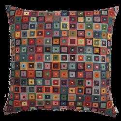 Poduszka Kwadraty Kolorowe