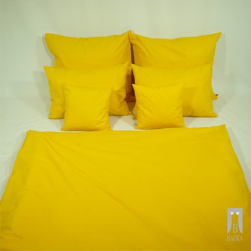 Pościel jednokolorowa - żółta