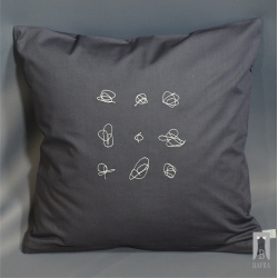 Pillowcase embroidery graphic - Gryzmoł